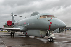 Bombardier BD-700 Sentinel R1 - 02 (NickJ 1972) Tags: royalinternationalairtattoo riat raf fairford airshow 2019 aviation bombardier bd700 sentinel r1 zj694