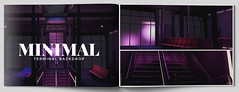 MINIMAL - Terminal Backdrop (MINIMAL Store) Tags: minimal terminal backdrop neon uber event secondlife sl eventsl airport airportbackdrop