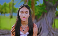 TAHITI - Young girl (Jacques Rollet (Little Available)) Tags: child girl kid tahiti face