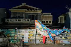 Community Art Project to celebrate FINA World Masters in Gwangju (ep_jhu) Tags: 광주 night 한국 ballena colorful art whale dark house fuji nightmarket daein gwangju korea fujifilm x100f donggu southkorea