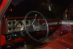 The Controls (Jacob Narup) Tags: gmctruck gmc gmcc1500 truck pickup pickuptruck night nightexposure nighttime 1986 cab truckcab wheel interior carinterior truckinterior classictruck classic