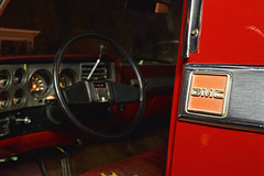 GMC Branded (Jacob Narup) Tags: gmctruck gmc gmcc1500 truck pickup pickuptruck night nightexposure nighttime 1986 cab truckcab wheel interior carinterior truckinterior classictruck classic
