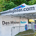 Des Moines Register at Iowa State Fair
