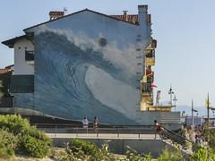 Hossegor-2019 (Rolumix-) Tags: france hossegor landes océanatlantique panasonic lumix fz300 sudouest fresquemurale fresque graf graffiti