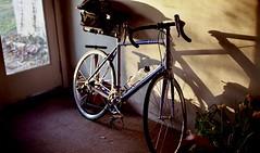 bike (bluebird87) Tags: bike nikon f100 film dx0 c41 kodak ektar epson v800