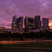 Sunrise Panoramic of Downtown Austin