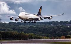 MSP N572UP (Moments In Flight) Tags: minneapolisstpaulinternationalairport msp kmsp mspairport boeing 747 b744 aviation avgeek airplane jumbojet queenoftheskies n572up 74744af