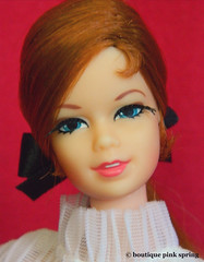VINTAGE MOD STACEY LONG RED HAIR TNT BARBIE DOLL w/ MIDI MAGIC OUTFIT (laika*2008) Tags: vintage mod stacey long red hair tnt barbie doll w midi magic outfit