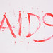 Bloody word AIDS