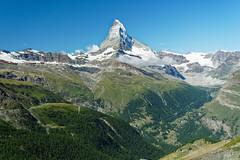 20190808-02-Matterhorn from Blauherd (Roger T Wong) Tags: 2019 alps blauherd matterhorn rogertwong sel24105g sony24105 sonya7iii sonyalpha7iii sonyfe24105mmf4goss sonyilce7m3 switzerland valais zermatt clouds mountain mountains travel triangle