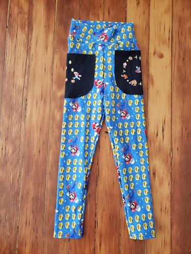 Super Mario kindergarten pants