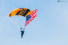 Flying Pride... (Sudipta.B) Tags: sudiptabphotography skydiving golden knights usa army usarmy defense flag pride stars stripes parachute team mypixeldiary airborne demonstration performers elite natgeo canon canonphotography canon70d canonusa atlantic city airshow 2019 newjersey nj