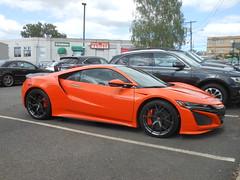 Orange Acura NSX (smaginnis11565) Tags: acura acuransx sportscar japanesecar