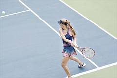norland d. cruz photography: magdalena frech of poland in action during her final qualifying match against spaniard paula badosa at the 2019 u.s. open in new york (norlandcruz74) Tags: speed lens high zoom iso telephoto shutter nikkor 70300mm afs telefoto d7200 ny newyork major nikon photographer poland gear polish womens player flushingmeadows queens tennis tournament event american filipino magdalena singles pinoy wta dx usopen shutterbug frech grandslam 2019 usta norlandcruz freçh sports sport fast