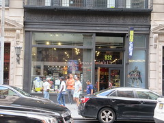 2019 Forbidden Planet Comic book store NYC 9154 (Brechtbug) Tags: 2019 forbidden planet comic book store nyc 13th street broadway new york city current location comicbook comics manhattan pulp pop culture funnies stores collectable toy toys south union square park chelsea facade front display window windows brit british uk english england organization business books news newspaper paper papers under ground 08242019 august