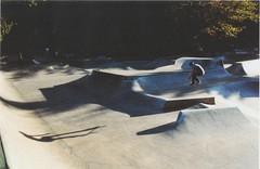 Nelson_windells_1280 (dannondale) Tags: nikonf2 badscan ollie skateboarding filmphotography 35mmfilm 50mm goldenhour