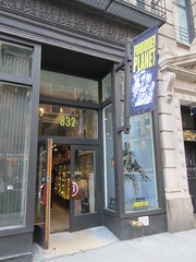 2019 Forbidden Planet Comic book store NYC 9186 (Brechtbug) Tags: 2019 forbidden planet comic book store nyc 13th street broadway new york city current location comicbook comics manhattan pulp pop culture funnies stores collectable toy toys south union square park chelsea facade front display window windows brit british uk english england organization business books news newspaper paper papers under ground 08242019 august