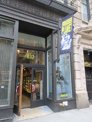 2019 Forbidden Planet Comic book store NYC 9185 (Brechtbug) Tags: 2019 forbidden planet comic book store nyc 13th street broadway new york city current location comicbook comics manhattan pulp pop culture funnies stores collectable toy toys south union square park chelsea facade front display window windows brit british uk english england organization business books news newspaper paper papers under ground 08242019 august