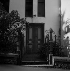 Doorways Mah Fav (Haruhara_Izzy) Tags: yashica mat 124g ilford hp5 cinestill df96 du dunedin