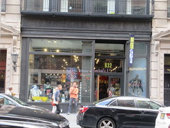 2019 Forbidden Planet Comic book store NYC 9151 (Brechtbug) Tags: 2019 forbidden planet comic book store nyc 13th street broadway new york city current location comicbook comics manhattan pulp pop culture funnies stores collectable toy toys south union square park chelsea facade front display window windows brit british uk english england organization business books news newspaper paper papers under ground 08242019 august