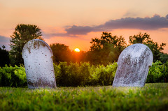 Living Beyond... (Neil Cornwall) Tags: 2019 canada colchester essexcounty july ontario morning sunrise tofflemirecemetery