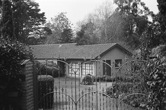 A house (Matthew Paul Argall) Tags: smenasymbol 35mmfilm kentmerepan100 100isofilm blackandwhite blackandwhitefilm house architecture building