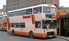 GM Buses: 5210 (D210FVU) in Stockport Bus Station (Mega Anorak) Tags: bus mcw metrobus dr1328 northerncounties gmbuses stockport
