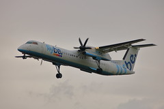 G-ECOP (ANDY'S UK TRANSPORT PAGE) Tags: planes heathrow lhr flybe dh8d 4242