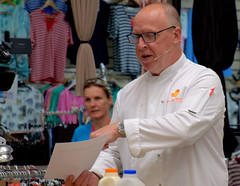 Chef Scott Bannon at Bolton Food Festival 2019 (Tony Worrall) Tags: boltonfoodfestival2019 bolton food festival 2019 ffodfestival event chefs cook cooking men annual show nw northwest north update place location uk england visit area attraction open stream tour country item greatbritain britain english british gb capture buy stock sell sale outside outdoors caught photo shoot shot picture captured ilobsterit instragram scottbannon demo stage market