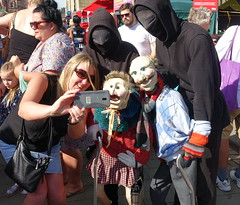 Creepy puppets at Bolton Food Festival 2019 (Tony Worrall) Tags: welovethenorth nw northwest north update place location uk england visit area attraction open stream tour country item greatbritain britain english british gb capture buy stock sell sale outside outdoors caught photo shoot shot picture captured ilobsterit instragram bolton fun entertaiment costume creepy men candid crowd funny quirky people play actore puppets boltonfoodfestival