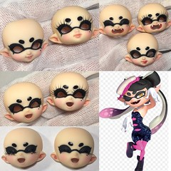 Commissioned faceup (AnnaZu) Tags: