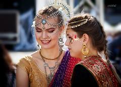 _MG_9207 (Mikhail Lukyanov) Tags: women girls girlfriends dancers summer street portrait fashion ethnic folk