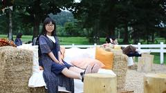 SAKURAKO rests at Farm Lounge - Hoshino Resort TOMAMU. (MIKI Yoshihito. (#mikiyoshihito)) Tags: 星野リゾート トマム 星野リゾートトマム hoshino resort tomamu japan hokkaido 北海道 hoshinoresorttomamu farm lounge farmlounge sakurako 櫻子 さくらこ 娘 daughter サクラコ 長女 10歳10ヶ月 eldestdaughter