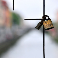 Forever love (Anne*°) Tags: ©annedhuart amore amour barreaux bridge cadenas canal engagement fragile italia italie italy love lucchetto milan milano navigliogrande nelbeneenel padlock pont promesse promise symbole intertwining entrelacs annedhuart forever bsquare