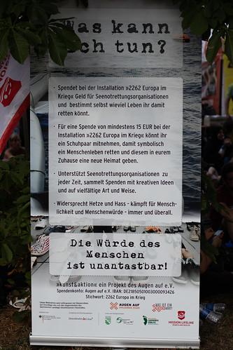 24.08.2019 - #unteilbar Großdemo