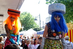 Dolly Mixture girls at Bolton Food Festival 2019 (Tony Worrall) Tags: bolton boltonfoodfestival foodfestival event show annual outdoors fun entertainment actors women tall stilts dollymixture liquorice hats colourful nw northwest north update place location uk england visit area attraction open stream tour country item greatbritain britain english british gb capture buy stock sell sale outside caught photo shoot shot picture captured ilobsterit instragram