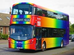Lothian Buses 584 (SJ67MGV) - 16-08-19 (02) (peter_b2008) Tags: lothianbuses skylink 400 volvo b5tl wrightbus wright eclipsegemini3 584 sj67mgv edinburgh buses coaches transport buspictures