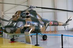 Mil Mi-2 Hoplite (srkirad) Tags: helicopter chopper mil mi2 hoplite russian hungarian aviationmuseum aviation museum szolnok hungary reptar rotor blades