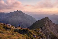 Contemplation (lionel.fellay) Tags: switzerland suisse niesen schweiz landscape paysage mountains montagnes berg bern hike fujifilm xt3 sunset