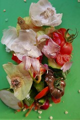 tops and tails (Mr Ian Lamb 2) Tags: garlic onion chilli cougette tomato ingredients food recipe vegetables