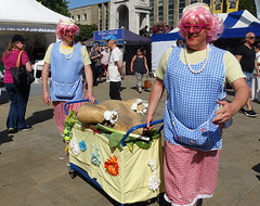 Dinner Ladies at Bolton Food Festival 2019 (Tony Worrall) Tags: bolton boltonfoodfestival foodfestival event show annual outdoors fun entertainment actors drag silly dinnerladies trolly daft nw northwest north update place location uk england visit area attraction open stream tour country item greatbritain britain english british gb capture buy stock sell sale outside caught photo shoot shot picture captured ilobsterit instragram