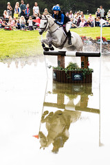 Reflection (Ed Swift) Tags: 70200mmf28lisii 7d2 blairatholl blaircastleinternationalhorsetrials canon crosscountry equestrian horse jump scotland sport xc