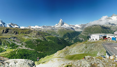 20190808-03-Panorama from Blauherd_pano (Roger T Wong) Tags: 2019 alps blauherd matterhorn ptgui rogertwong sel24105g sony24105 sonya7iii sonyalpha7iii sonyfe24105mmf4goss sonyilce7m3 zermatt mountains pano panorama travel