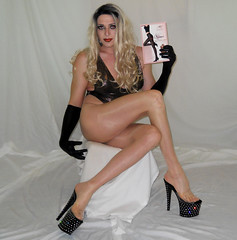 Pantyhose maniac! Check me out @ YouTube (queen.catch) Tags: transvestite dragqueen pantyhosereview legsfordays nylonlegs hotlegs pleasers gloves bathingsuit ladyboy sissy feminization femboi nylons shemale dragmakeup wig catchqueenyoutube