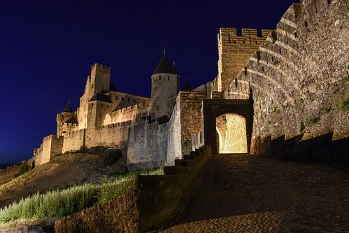 Porte de l'Aude, Carcassonne
