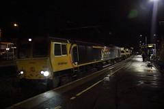 66722 & 66725 Larbert, Scotland (Paul Emma) Tags: scotland falkirk larbert railway railroad dieseltrain train army 66722 66725