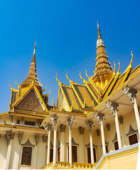 Cambodia Royal Palace. Phnom Penh, Cambodia.