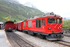 DFB 61--2019_08_17_0820--Realp (phi5104) Tags: treinen trains eisenbahn zwitserland suisse schweiz realp dfb 2019