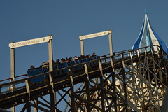 Big Dipper Climbing the Lift Hill (CoasterMadMatt) Tags: blackpoolpleasurebeach2019 pleasurebeachblackpool2019 blackpoolpleasurebeach pleasurebeachblackpool pleasurebeach pleasure beach blackpool 2019season amusementpark themepark amusement theme park parks englishamusementparks amusementparksinengland bigdipper big dipper woodenrollercoaster wooden rollercoaster rollercoasters roller coaster coasters blackpoolsrollercoasters englishrollercoasters rollercoastersinengland lifthill lift hill ride rides lancashire lancs fyldecoast northwestengland northwest england britain greatbritain unitedkingdom uk gb europe february2019 winter2019 february winter 2019 coastermadmattphotography coastermadmatt photography photographs photos nikond3200