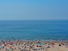 Beachlife (Jenne Barneveld) Tags: sea bluesea bluesky sky summer sunnyday beach beachlife swimming olympusem10 olympus sunday august